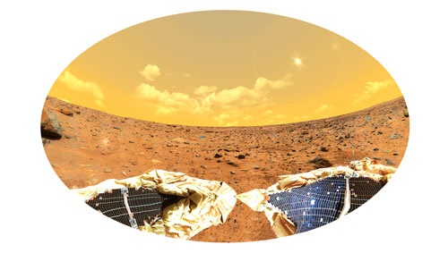 سال نو در مریخ