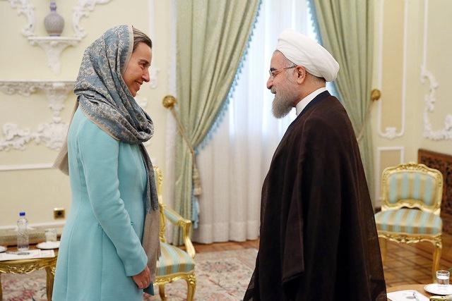 تبریک موگرینی به روحانی | اروپا آماده همکاری با ایران است