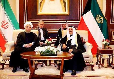 امیر کویت پیروزی روحانی را تبریک گفت