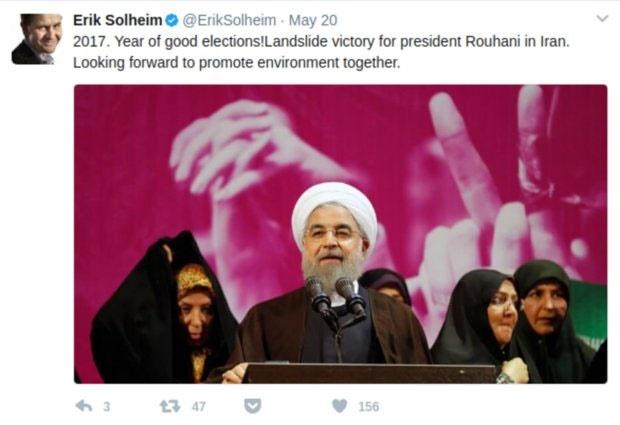 مشتاق همراهی زیست محیطی با ایران هستیم