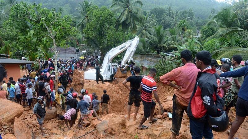 ۱۰۰ کشته و هزاران بیخانمان بر اثر سیل در سریلانکا