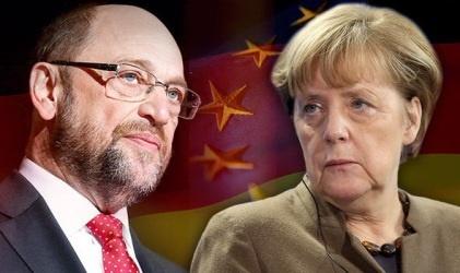 نتایج یک نظرسنجی: حزب مرکل پیشتاز رقابت صدراعظمی آلمان است