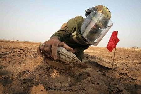 قدردانی صلیب سرخ از ایران در حوزه مین زدایی