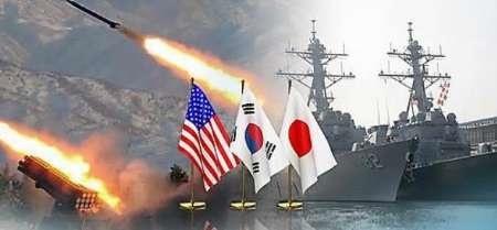 اتحاد سه کشور ژاپن، کره جنوبی و آمریکا علیه کره شمالی