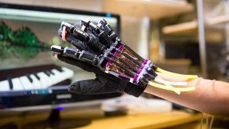 دستکشی که حس لامسه را شبیهسازی میکند