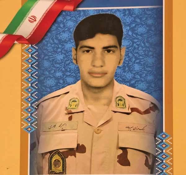 سرباز شهید امیرمحمد مکاری