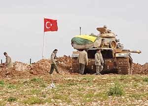 ورود ترکیه در سوریه