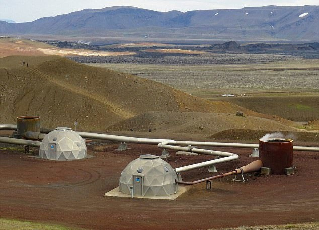 تلاش ایسلند برای استفاده از انرژی زمینگرمایی