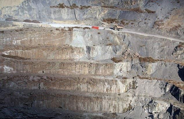 ذخیره دیاکسیدکربن هوا در معادن الماس