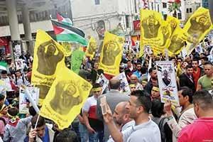 ترس رژیم صهیونیستی در بیست و دومین روز اعتصاب غذای زندانیان فلسطینی