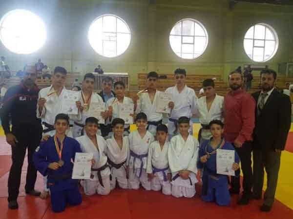 قهرمانی جودوکاران نونهال گرمدره در تاتامی ارمنستان
