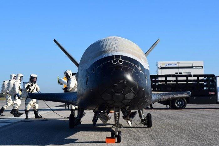 فرود فضاپیمای مرموز نیروی هوایی آمریکا