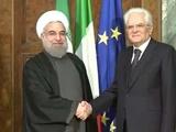 رئیس جمهوری ایتالیا پیروزی روحانی را تبریک گفت