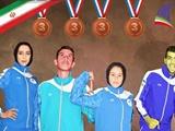 دو و میدانی نوجوانان آسیا؛ کسب ۴ مدال برنز و جابجایی ۲ رکورد ملی