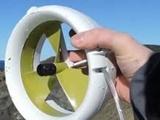با این توربین قابل حمل از آب و باد برق بگیرید