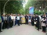 رکورد ملی دویدن برعکس توسط ورزشکار مشهدی ثبت شد