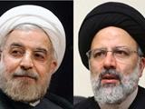 آراء روحانی و رئیسی به تفکیک استانها