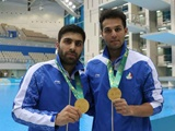 بازیهای کشورهای اسلامی؛ دومین مدال طلا برای شیرجه دونفره ایران