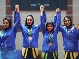 قهرمانی تیم تنیس روی میز دختران در بازیهای کشورهای اسلامی