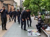 برخورد با جوان دستفروش ارتباطی با تهران ندارد