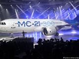 نخستین پرواز یک هواپیمای مسافربری جدید روسیه