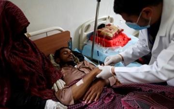 موارد ابتلا به وبا در یمن در حال افزایش است