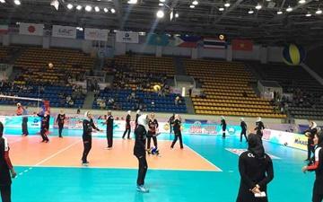 والیبال باشگاههای زنان آسیا؛ باخت بانکیها برابر آلتای قزاقستان