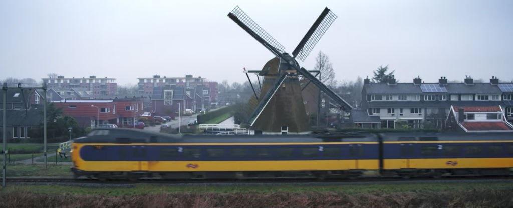 استفاده تمامی قطارهای هلند از انرژی باد