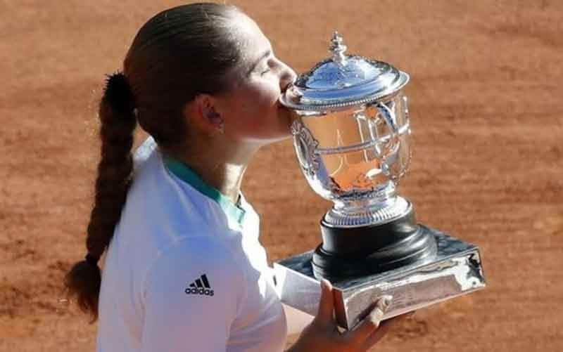 قهرمانی یلنا اوستاپنکو در بخش زنان رولان گاروس، شگفتی بزرگ تنیس اوپن فرانسه