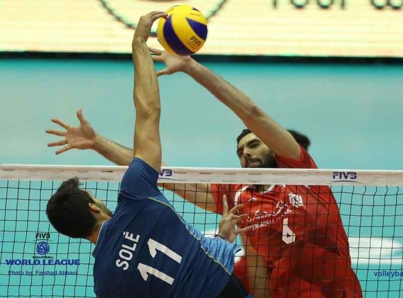 پیروزی ایران بر آرژانتین در هفته دوم لیگ جهانی والیبال