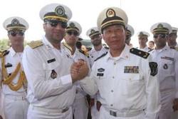 ناوهای جنگی ایران و چین تمرین مشترک نظامی برگزار میکنند