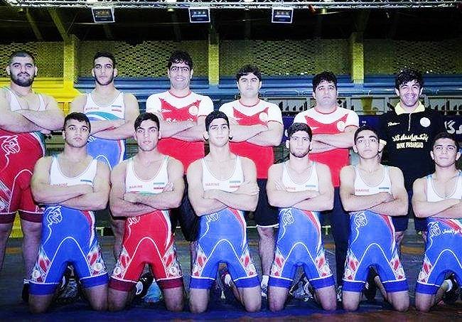 ایران قهرمان کشتی فرنگی جوانان آسیا شد