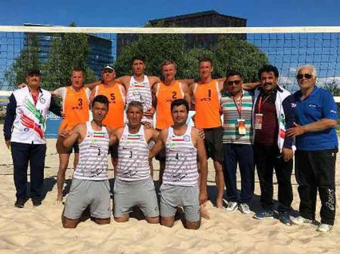 مسابقات ورزشی کارگران جهان/ لتونی؛ والیبال ساحلی ایران قهرمان شد
