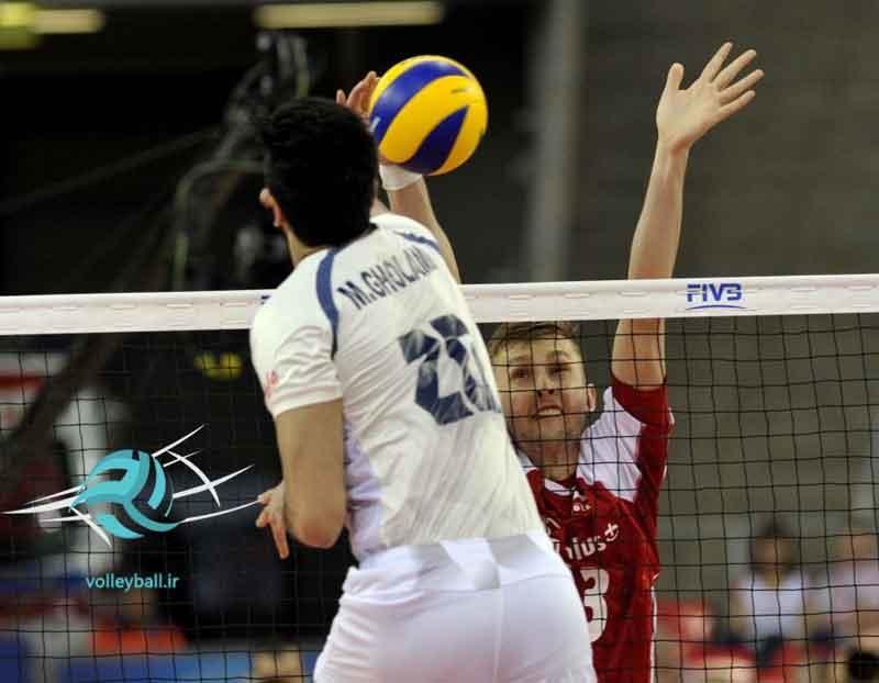 لیگ جهانی والیبال؛ شکست ایران مقابل لهستان