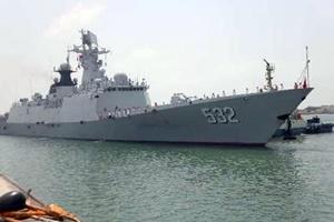 تمرین مشترک نظامی نیروی دریایی ایران و چین در آبهای خلیج فارس