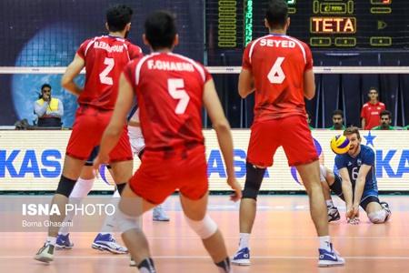 ایران حریف روسیه نشد   پایان کار در لیگ جهانی والیبال ۲۰۱۷