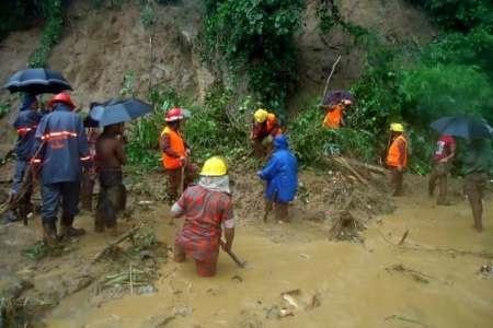 قربانیان رانش زمین در بنگلادش به ۱۶۳ نفر افزایش یافت
