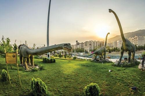 پارکی برای دایناسورها