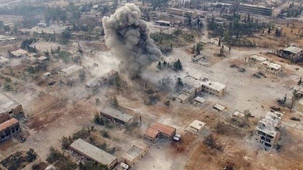 داعش برای دهمین بار در موصل دست به حمله شیمیایی زد