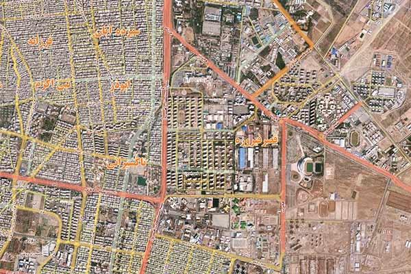 مطالعه طرح احداث ادامه بزرگراه شهید محلاتی