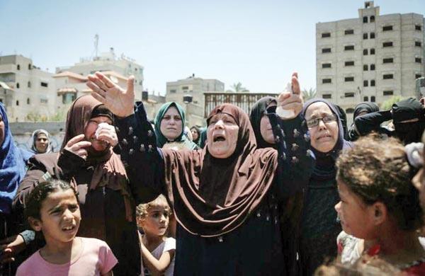 زندگی روزمره مردم غزه