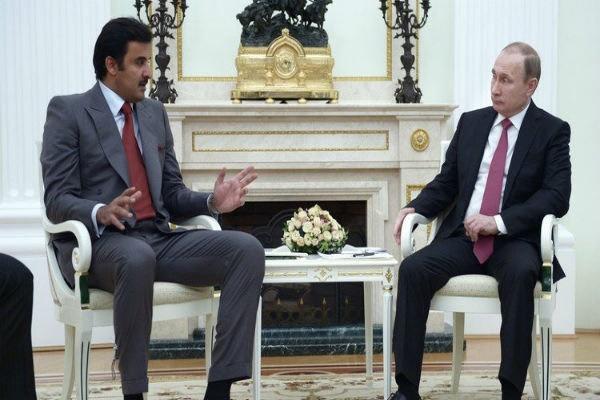 تحویل نامه امیر قطر به پوتین