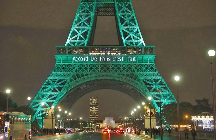 درباره توافق آب و هوایی پاریس (پیمان پاریس)