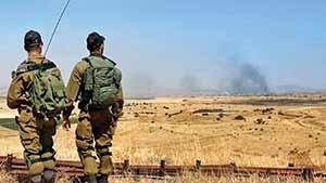 اسرائیلیها با استفاده از دوربینهای تعبیه شده در سرزمینهای اشغالی حمله جنگندهها به بلندیهای جولا