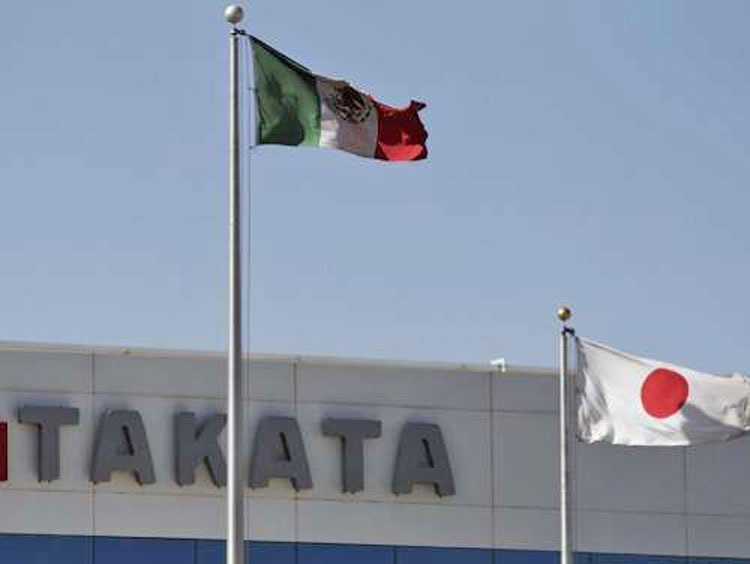 سازنده ژاپنی کیسه هوا (ایربگ) اعلام ورشکستگی کرد