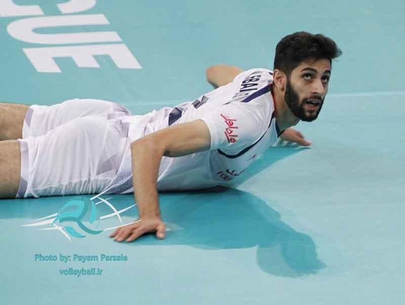 لیگ جهانی والیبال؛ شکست ایران در اولین دیدار