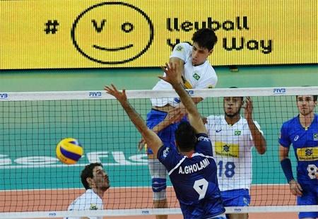 لیگ جهانی والیبال | ایران حریف برزیل قهرمان المپیک نشد