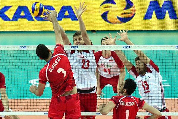 لیگ جهانی والیبال   پیروزی بزرگ ایران برابر لهستان