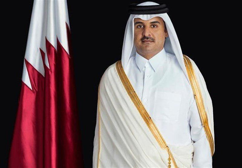 امیر قطر دستور آماده باش نیروهای مسلح این کشور در خلیج فارس را صادر کرد