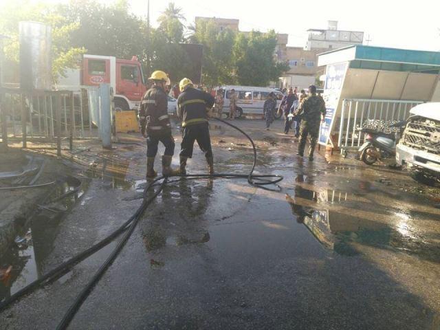 ۹ کشته و ۱۵ زخمی در انفجار انتحاری درکربلا